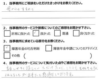 相談者様のアンケート152