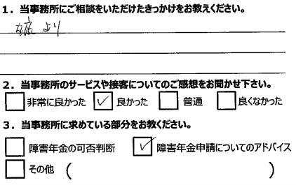 富山 相談者の声5